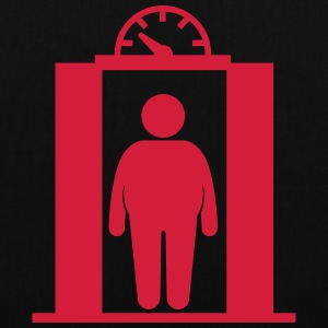 fat elevator man Bags & backpacks - Tote Bag