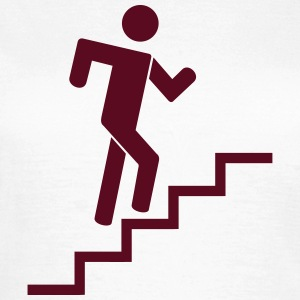 stairs runner T-Shirts - Frauen T-Shirt