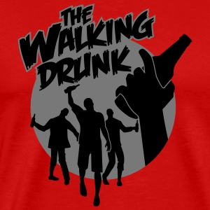 The Walking Drunk Tee shirts - T-shirt Premium Homme