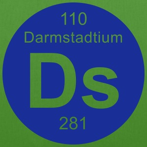 Darmstadtium (Ds) (element 110) - EarthPositive Tote Bag