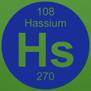 Hassium (Hs) (element 108) - EarthPositive Tote Bag