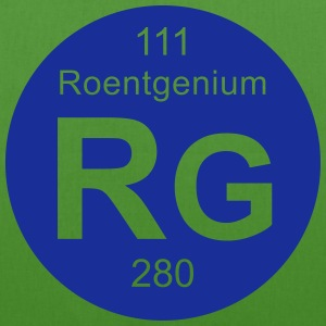 Roentgenium (Rg) (element 111) - EarthPositive Tote Bag