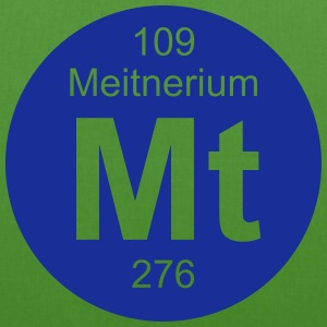 Meitnerium (Mt) (element 109) - EarthPositive Tote Bag