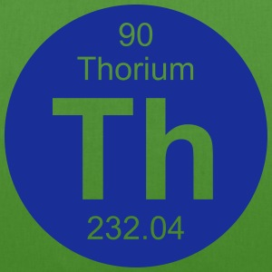 Thorium (Th) (element 90) - EarthPositive Tote Bag