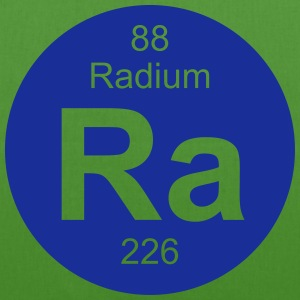 Radium (Ra) (element 88) - EarthPositive Tote Bag