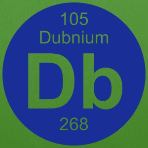 Dubnium (Db) (element 105) - EarthPositive Tote Bag