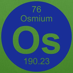 Osmium (Os) (element 76) - EarthPositive Tote Bag