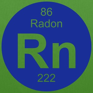 Radon (Rn) (element 86) - EarthPositive Tote Bag