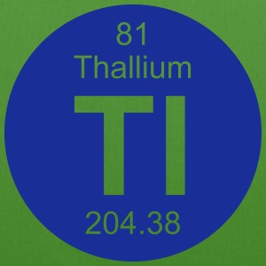 Thallium (Tl) (element 81) - EarthPositive Tote Bag