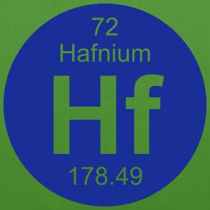 Hafnium (Hf) (element 72) - EarthPositive Tote Bag