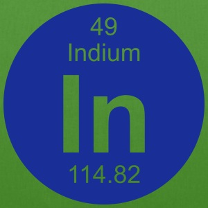 Indium (In) (element 49) - EarthPositive Tote Bag