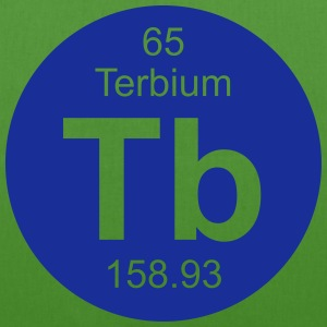 Terbium (Tb) (element 65) - EarthPositive Tote Bag