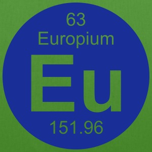 Europium (Eu) (element 63) - EarthPositive Tote Bag