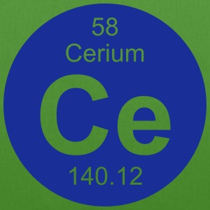 Cerium (Ce) (element 58) - EarthPositive Tote Bag
