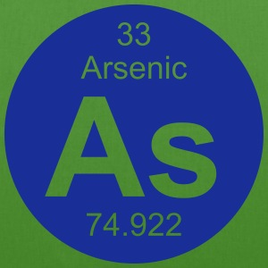 Arsenic (As) (element 33) - EarthPositive Tote Bag