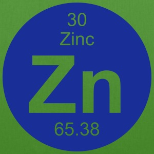 Zinc (Zn) (element 30) - EarthPositive Tote Bag