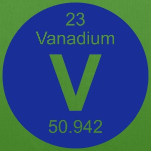 Vanadium (V) (element 23) - EarthPositive Tote Bag
