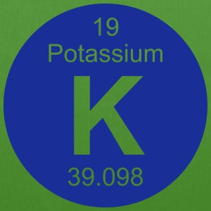 Potassium (K) (element 19) - EarthPositive Tote Bag