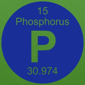 Phosphorus (P) (element 15) - EarthPositive Tote Bag