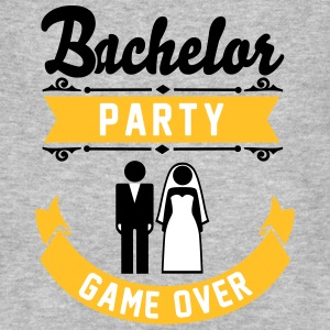 Bachelor Party Game Over T-Shirts - Men's Organic T-shirt
