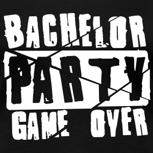 Bachelor Party Game Over T-Shirts - Women's Premium T-Shirt