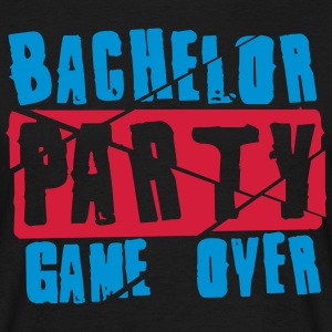 Bachelor Party Game Over T-shirts - Mannen T-shirt