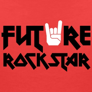 future rock star T-Shirts - Women's V-Neck T-Shirt