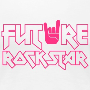 future rock star T-Shirts - Women's Premium T-Shirt