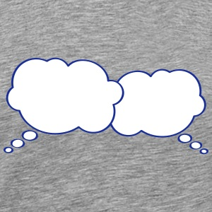 Thought Bubbles T-Shirts - Men's Premium T-Shirt