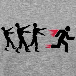 Run From Zombies T-Shirts - Men's Premium T-Shirt