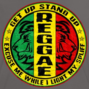 get up stand up reggae T-Shirts - Women's Ringer T-Shirt