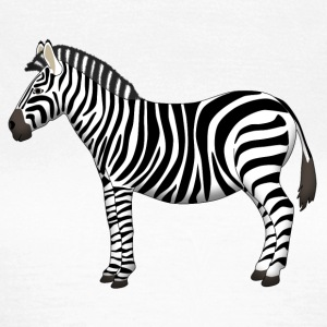 Zebra side T-Shirts - Women's T-Shirt