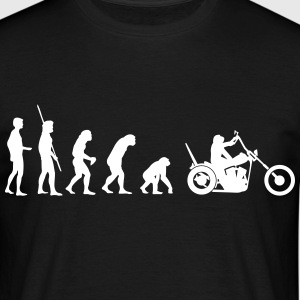 Chopper omvendt evolution  T-shirts - Herre-T-shirt