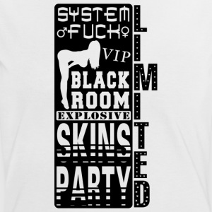 system fuck explosive skins party Tee shirts - T-shirt contraste Femme