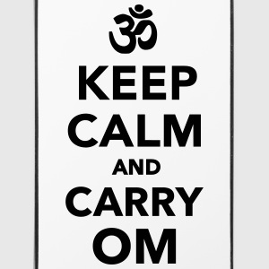 Keep calm and carry om Handy & Tablet Hüllen - iPhone 4/4s Hard Case