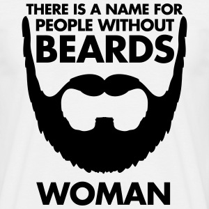 People Without Beards T-skjorter - T-skjorte for menn