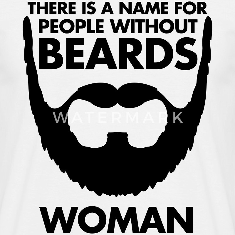People Without Beards T-shirts - T-shirt herr