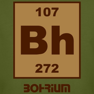 Bohrium (Bh) (element 107) - Men's Organic T-shirt