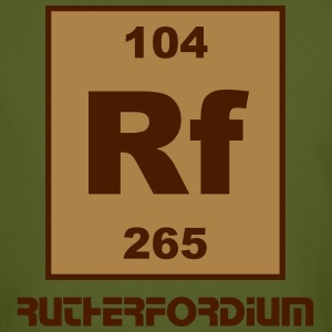 Rutherfordium (Rf) (element 104) - Men's Organic T-shirt