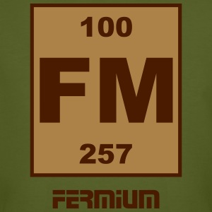 Fermium (Fm) (element 100) - Men's Organic T-shirt