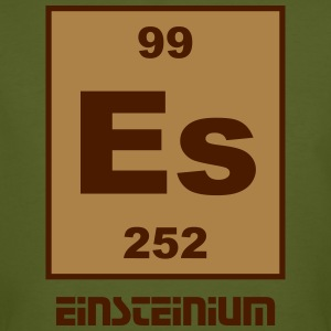Element 99 - es (einsteinium) - Short (white) T-skjorter - Økologisk T-skjorte for menn