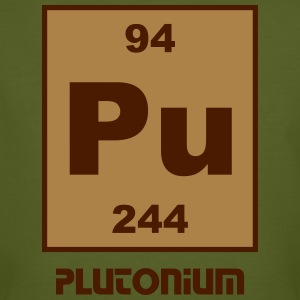 Element 94 - pu (plutonium) - Short (white) T-shirts - Organic mænd