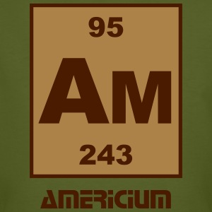 Americium (Am) (element 95) - Men's Organic T-shirt