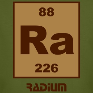 Radium (Ra) (element 88) - Men's Organic T-shirt