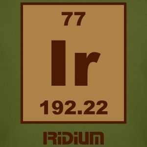 Iridium (Ir) (element 77) - Men's Organic T-shirt