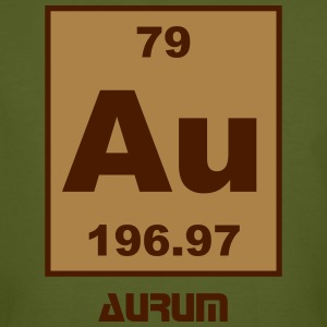 Aurum (Au) (element 79) - Men's Organic T-shirt