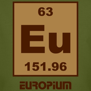 Europium (Eu) (element 63) - Men's Organic T-shirt