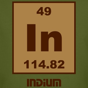 Indium (In) (element 49) - Men's Organic T-shirt