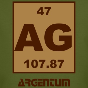 Argentum (Ag) (element 47) - Men's Organic T-shirt