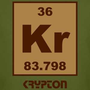 Element 36 - kr (krypton) - Short (white) T-Shirts - Männer Bio-T-Shirt